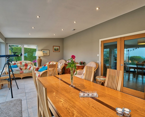 Dornoch B&B Breakfast table